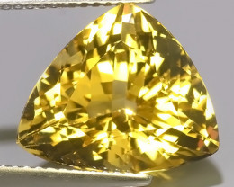 6.55 CTS AMAZING NATURAL HELIODOR GOLDEN YELLOW BERYL