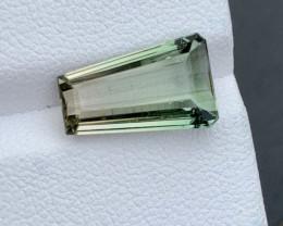 5.76 carat Natural fancy cut Tourmaline gemstone.