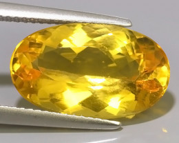 6.80 CTS AMAZING NATURAL HELIODOR GOLDEN YELLOW BERYL