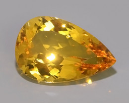 19.35 CTS AMAZING NATURAL HELIODOR GOLDEN YELLOW BERYL