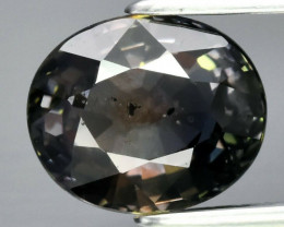 CERTIFICATE Incl*2.01ct Natural Unheated Yellowish Green Sapphire