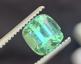 1 carats Green colour Tourmaline Gemstone From  Afghanistan