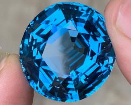 Spectacular London Blue Topaz