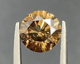 1.71 CT Diamond Gemstones top brown color top luster