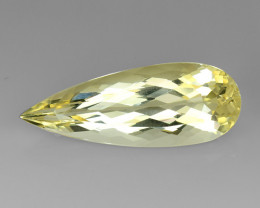 5.78Ct Natural Heliodor AAA Grade Top Quality Gemstone. HD 35