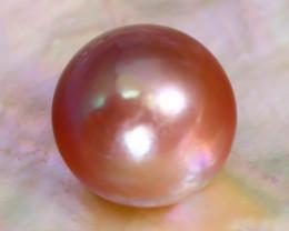 12.2mm 12.83Ct Natural Tahitian Golden Black Pearl C0717