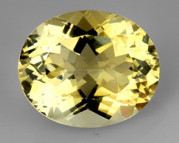 4.64Ct Natural Heliodor AAA Grade Top Quality Gemstone. HD 38