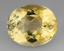 4.58Ct Natural Heliodor AAA Grade Top Quality Gemstone. HD 40