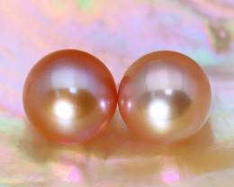 8.1mm 7.52Ct Natural Australian South Sea Pink Color Pearl C0739