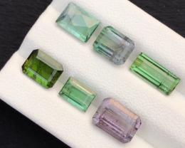 10.15 carats, Natural Tourmaline lot.