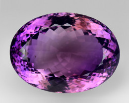 71.79Ct Amethyst Excellent Cut Top Quality Gemstone. AT 15
