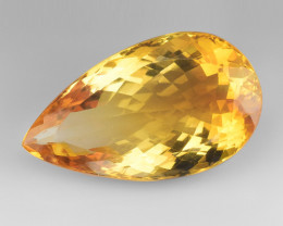 30.14Ct Natural Citrin Top Quality Gemstone. CT16