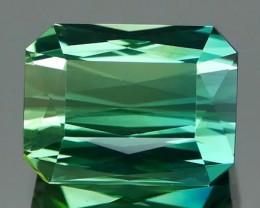 *$15 NR Bidding* Scissors Cut Blue-Green Tourmaline 1.28Ct