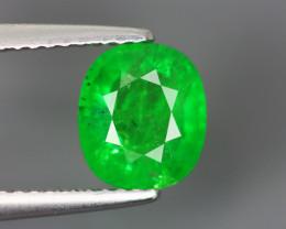 1.870 Cts Tsavorite Oval Chrome Green Garnet 100% Natural Unheated