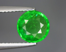 1.815 Cts Tsavorite Round Chrome Green Garnet 100% Natural Unheated