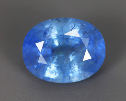 4.0Cts Blue Sapphire GIL Certified 100% Natural Unheated From SriLanka