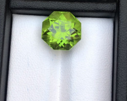 Top Grade 9.15 ct lovely Peridot Ring Size