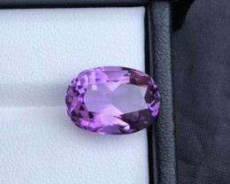 Clean Piece 7.75 ct Amethyst Good Luster Piece For Jewelry