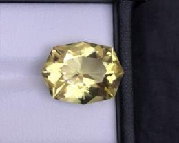 Gorgeous 10.30 ct Fancy Cut Lemon Citrine Jewelry Size