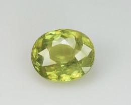 Top Fire 2.61 Carats Natural Sphene Gemstone