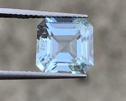 Top 3.15 Cts Natural Aquamarine Gemstone Good Luster