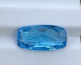 9.31 Cts Natural Blue Topaz Gemstone Good Luste