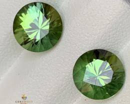 Top quality 3.7 carats Tourmaline Pair
