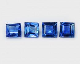 *NoReserve*Ceylon Sapphire 0.52 Cts 4Pcs Rare Natural Blue Gemstones