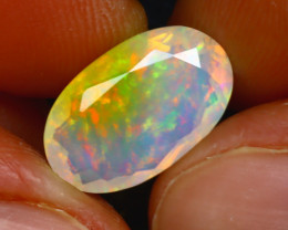 Welo Opal 2.73Ct Natural Ethiopian Faceted Welo Opal D1222/A44