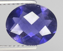 1.93Ct Natural Iolite Top Luster Top Cutting Top Quality Gemstone.IO 07