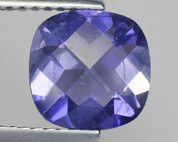 1.52Ct Natural Iolite Top Luster Top Cutting Top Quality Gemstone.IO 08