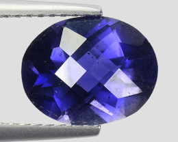 2.36 Ct Natural Iolite Top Luster Top Cutting Top Quality Gemstone.IO 10
