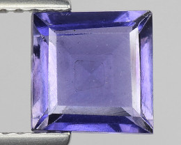 1.26Ct Natural Iolite Top Luster Top Cutting Top Quality Gemstone.IO 12