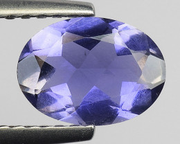 0.82Ct Natural Iolite Top Luster Top Cutting Top Quality Gemstone.IO 15