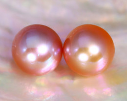 8.3mm 7.58Ct Natural Australian South Sea Pink Color Pearl A0851