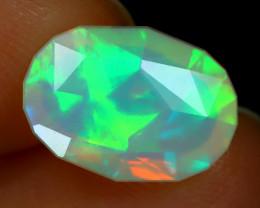 Welo Opal 1.92Ct Master Cut Natural Ethiopian Neon Flash Welo Opal A0855