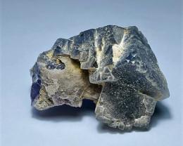 Amazing Natural color gemmy quality Fluorite specimen 312Cts-Pakistan