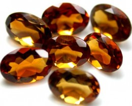 NATURAL CITRINE OVAL SHAPE 7pcs 2.80 CARATS ROI 1481