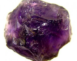NATURAL AMETHYST ROUGH BEAD 22 CTS LG-1144
