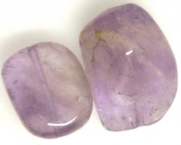 AMETHYST BEAD NATURAL 2 PCS 16.8CTS NP-1536