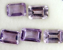 6X4MM PARCEL  PURPLE AMETHYST  GEMSTONES  2.6CTS TW 1065