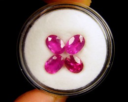 7X5MM   MM PARCEL AFRICAN RUBY  4.15   CARATS  TW 1071