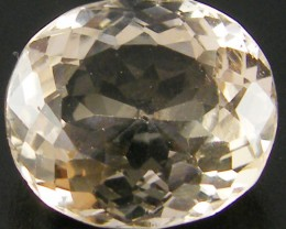 CHAMPAGNE HUE FACETED TOPAZ 8.95 CTS  ST 679