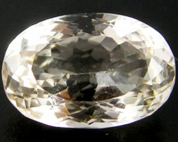 CHAMPAGNE HUE FACETED TOPAZ  10 CTS  ST 684