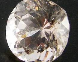 CHAMPAGNE HUE FACETED TOPAZ  8.60 CTS  ST 691