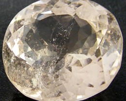 CHAMPAGNE HUE FACETED TOPAZ 9.15  CTS  ST 695