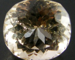 CHAMPAGNE HUE FACETED TOPAZ  9.45 CTS  ST 697