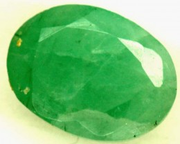 FACETED  EMERALD 0.85CTS ADG-688