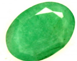 FACETED  EMERALD 0.65CTS ADG-689