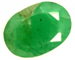 FACETED DYED EMERALD 0.90CTS ADG-684